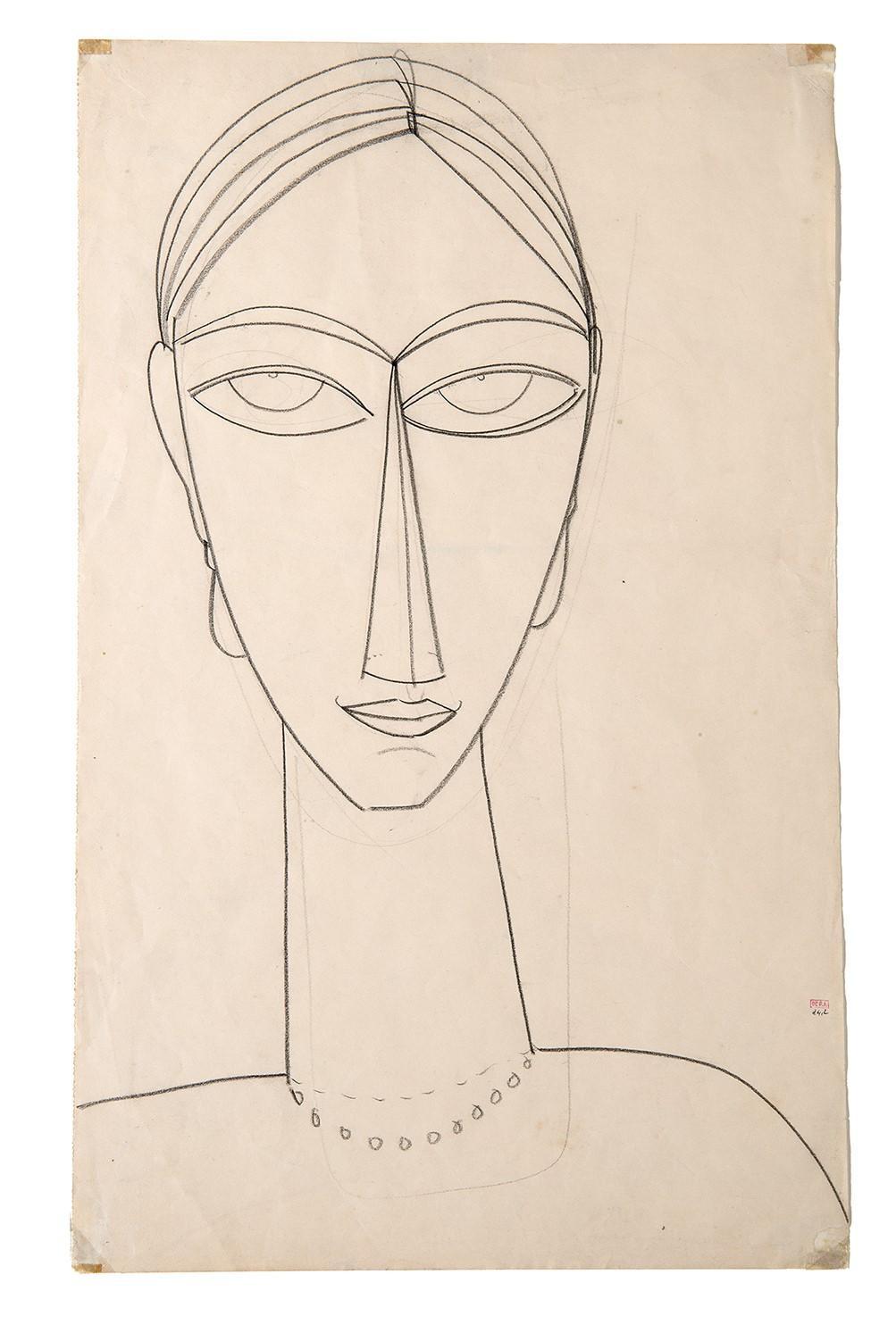 Amedeo Modigliani, Testa, Foto © FAI