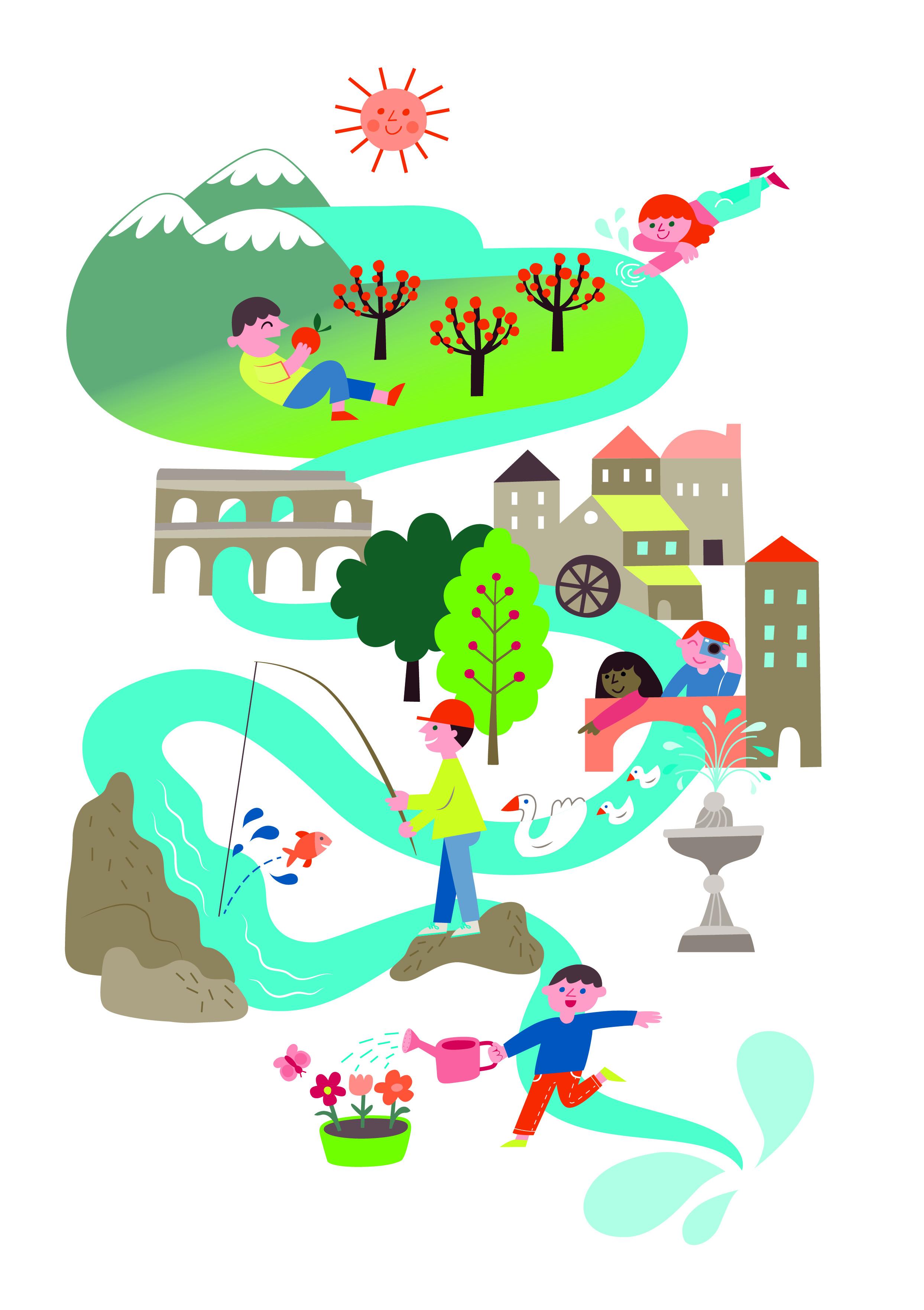 Acqua Viva Il Progetto Di Educazione Ambientale Del Fai Scuola
